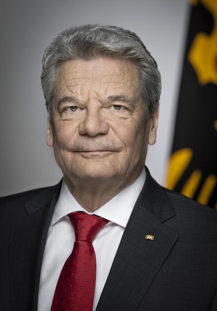 Offizielle Porträt Bundespräsident Joachim Gauck